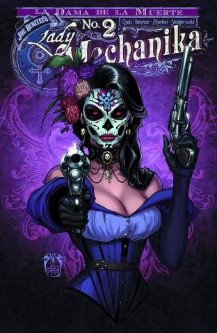 Lady Mechanika: La Dama de la Muerte #2 (10 Copy Cover)