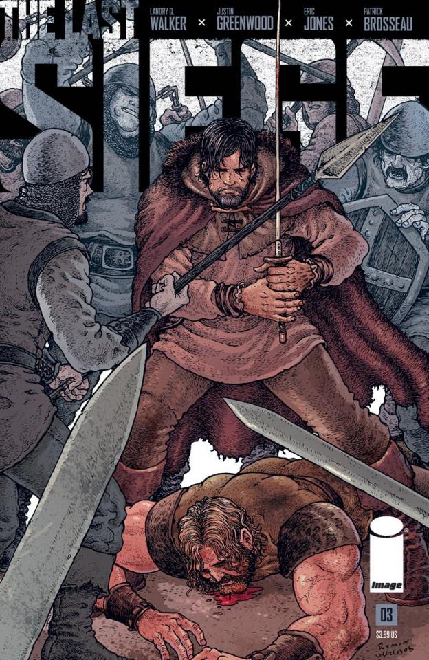 The Last Siege #3 (Villalobos Cover)