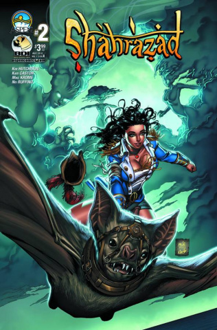 Shahrazad #2 (Direct Market Cover A)