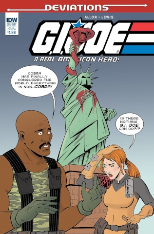 G.I. Joe: Deviations (Subscription Cover)