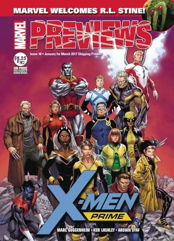 Marvel Previews #20: March 2017 Extras