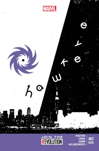 Hawkeye #7 (2nd Printing)