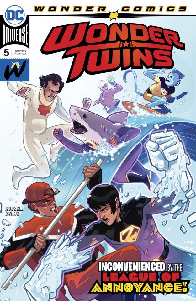 Wonder Twins #5