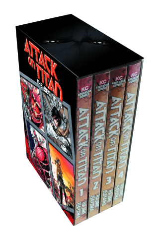 Attack on Titan Vols. 1-4
