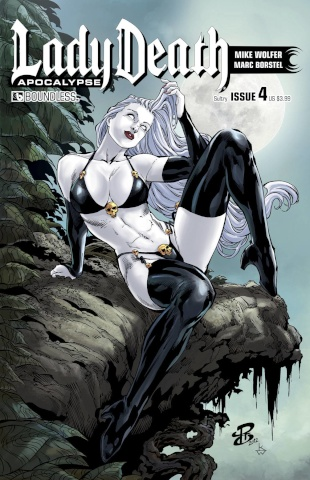 Lady Death: Apocalypse #4 (Sultry Cover)