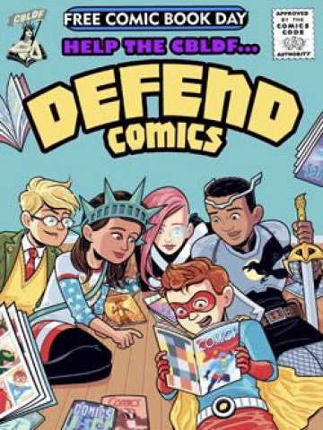 CBLDF Defend Comics