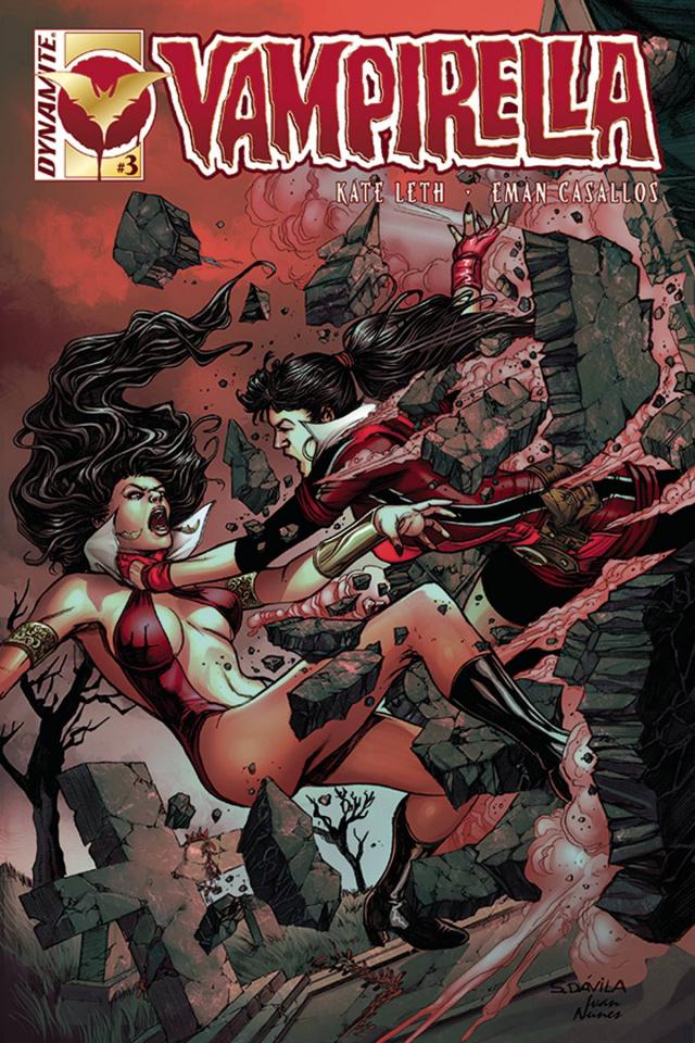 Vampirella #3 (Davila Cover)