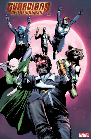 Guardians of the Galaxy #2 (Sorrentino Cover)