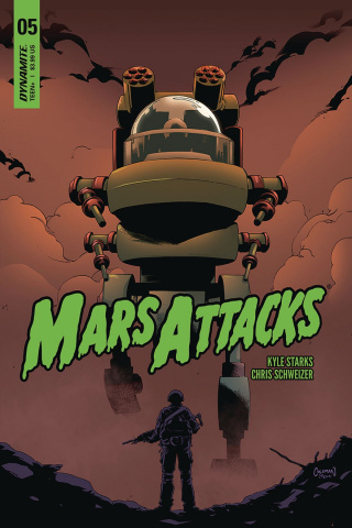 Mars Attacks #5 (Coleman Cover)