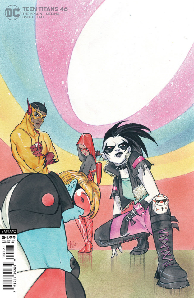 Teen Titans #46 (Peach Momoko Card Stock Cover)