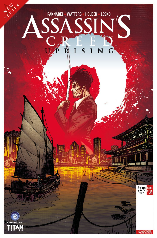 Assassin's Creed: Uprising #5 (Veltri Cover)