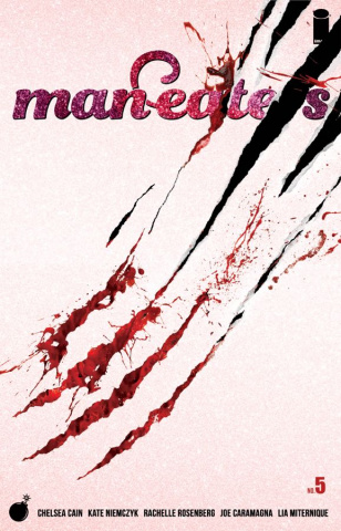 Man-Eaters #5 (Miternique Cover)