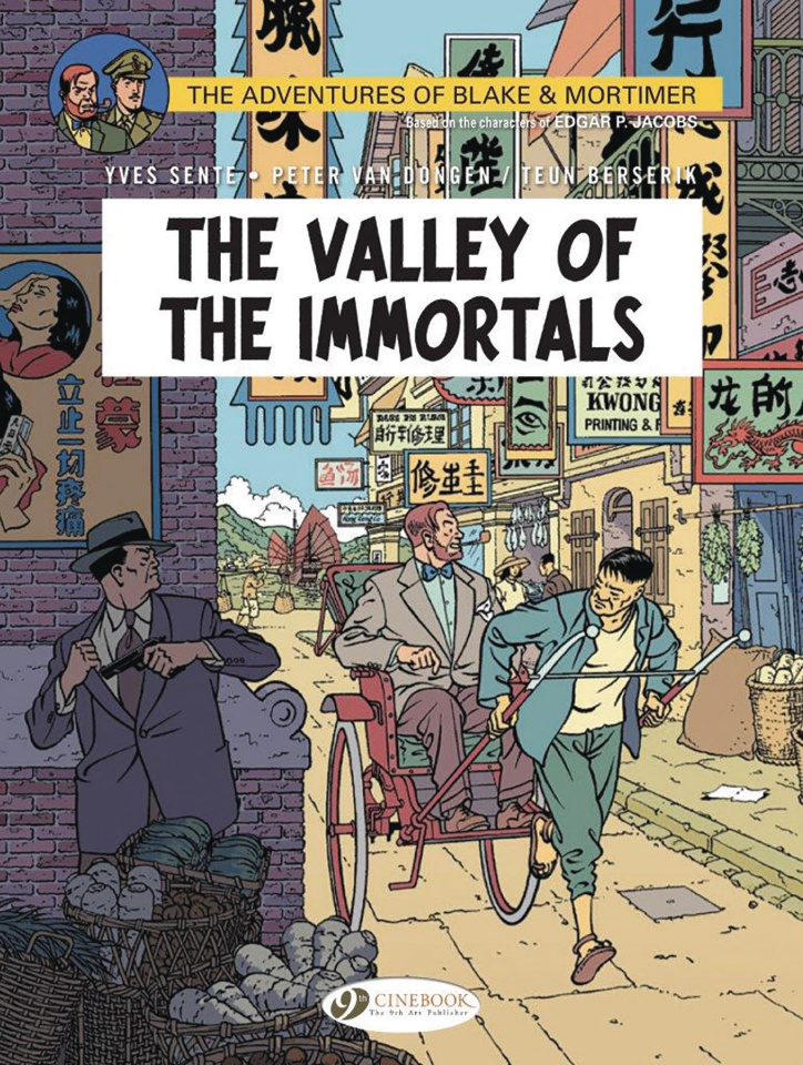 The Adventures of Blake & Mortimer Vol. 25: The Valley of the Immortals