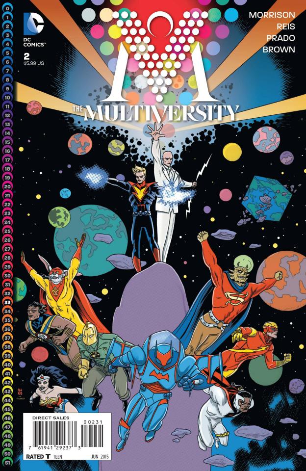 Multiversity #2 (Allred Variant)