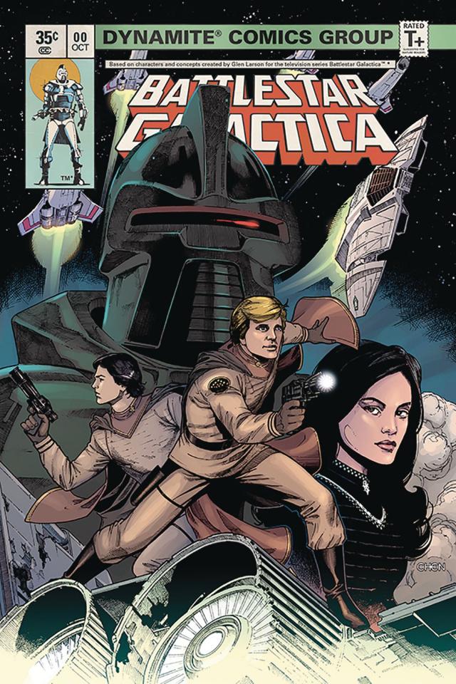 Battlestar Galactica Classic #1 (Chen Cover)