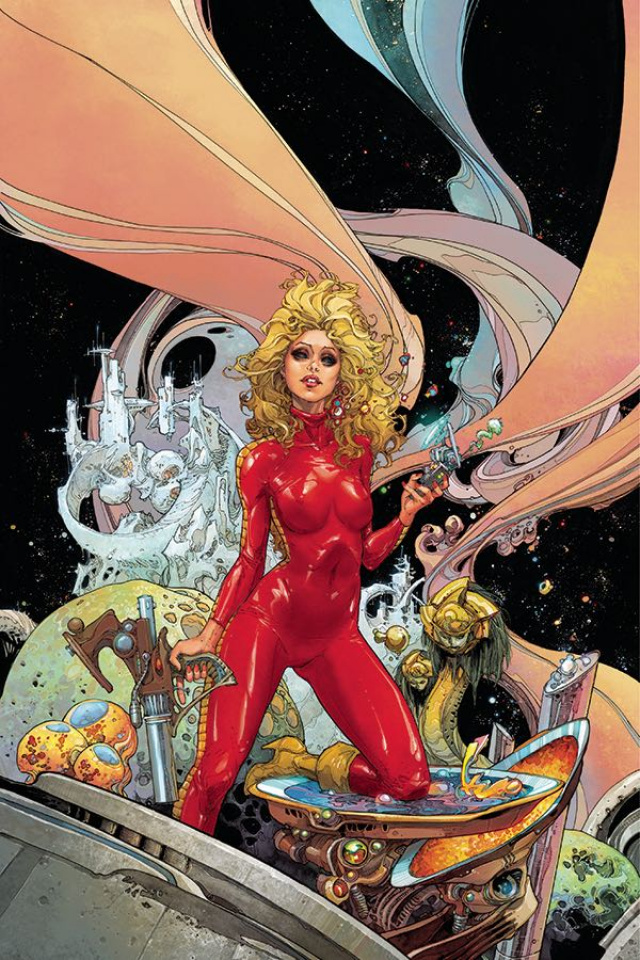 Barbarella #1 (Rocafort Cover)
