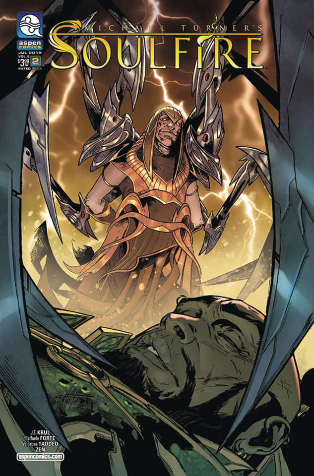 Soulfire #2 (Forte Cover)