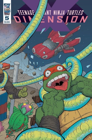 Teenage Mutant Ninja Turtles: Dimension X #5 (Pitarra Cover)