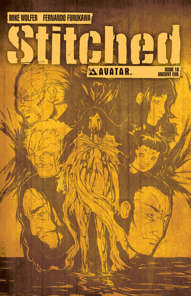 Stitched #18 (Ancient Evil Cover)