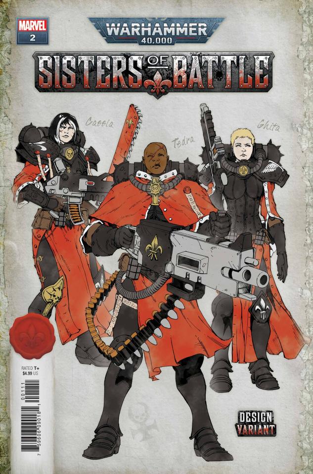 Warhammer 40,000: Sisters of Battle #2 (Salazar Design Cover)