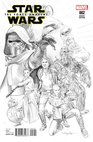 Star Wars: The Force Awakens #2 (Mayhew Sketch Cover)