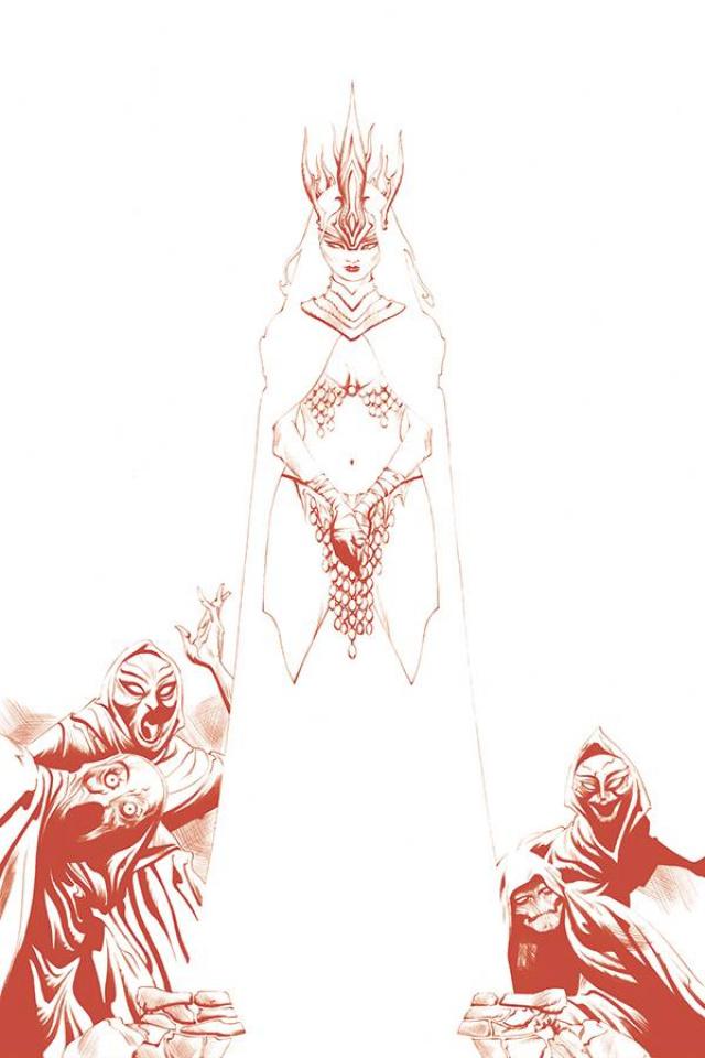 Red Sonja #19 (35 Copy Lee Tint Virgin Cover)