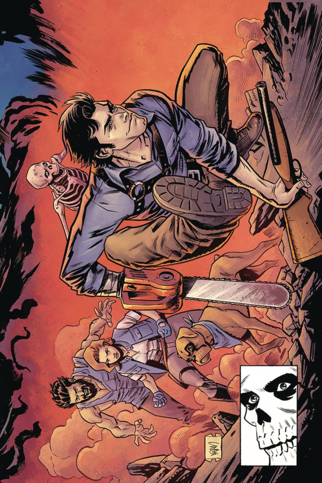 Death to the Army of Darkness #3 (15 Copy Gorham Homage Virgin Cover)