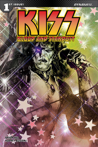 KISS: Blood and Stardust #1 (Sayger Starchild Cover)