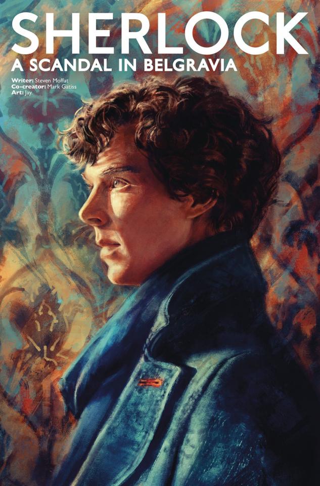 Sherlock: A Scandal in Belgravia #2 (Zhang Sherlock Cover)