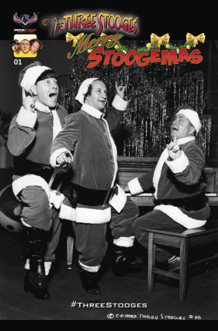 The Three Stooges: Merry Stoogemas (3 Copy Cover)