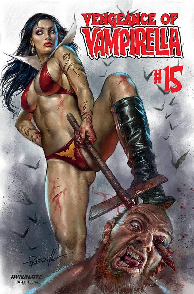 Vengeance of Vampirella #15 (CGC Graded Parrillo Cover)