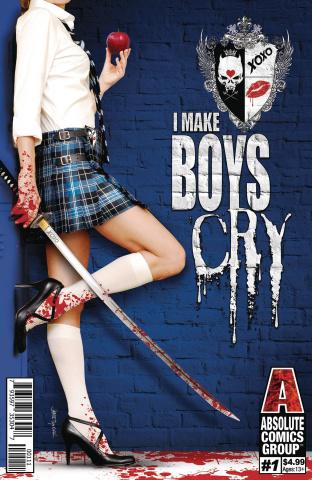 I Make Boys Cry #1 (Tyndall Cover)