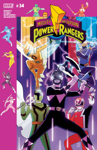 Mighty Morphin' Power Rangers #34 (Gibson Cover)