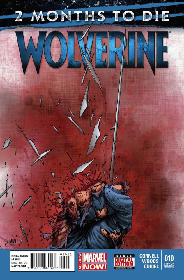 Wolverine #10 (2nd Printing)