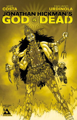 God Is Dead #38 (Gilded Cover)