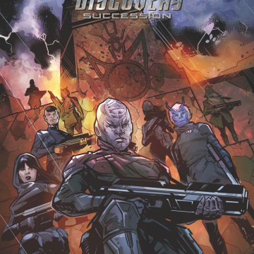 Star Trek: Discovery - Succession #2 (Hernandez Cover)