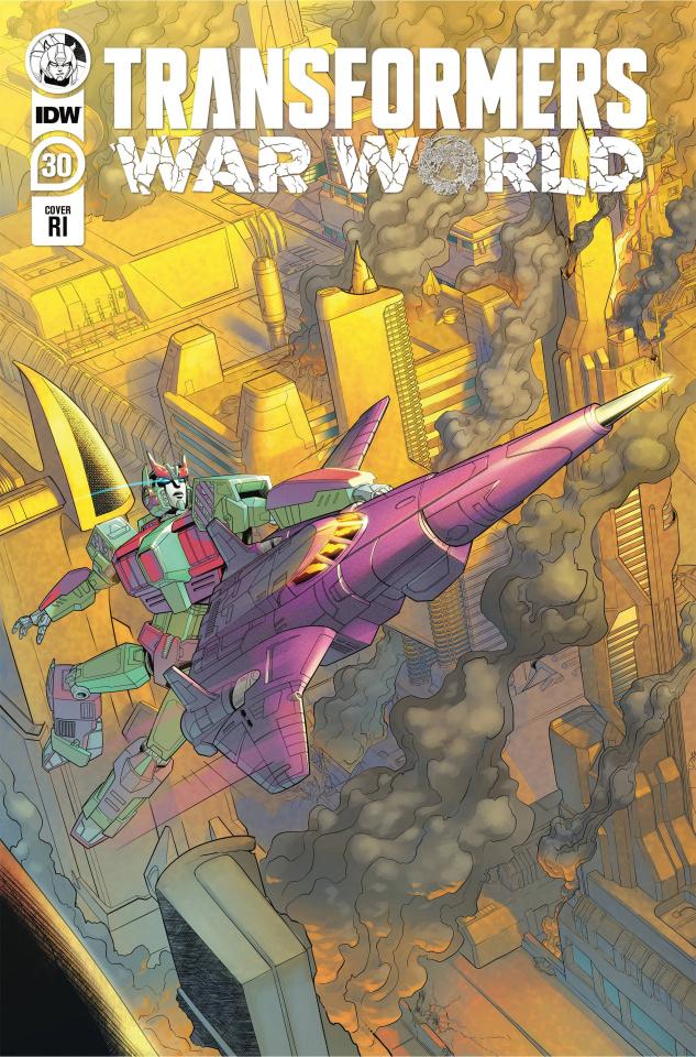 The Transformers #30 (10 Copy Blacky Shepherd Cover)
