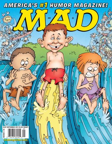 MAD Magazine #522