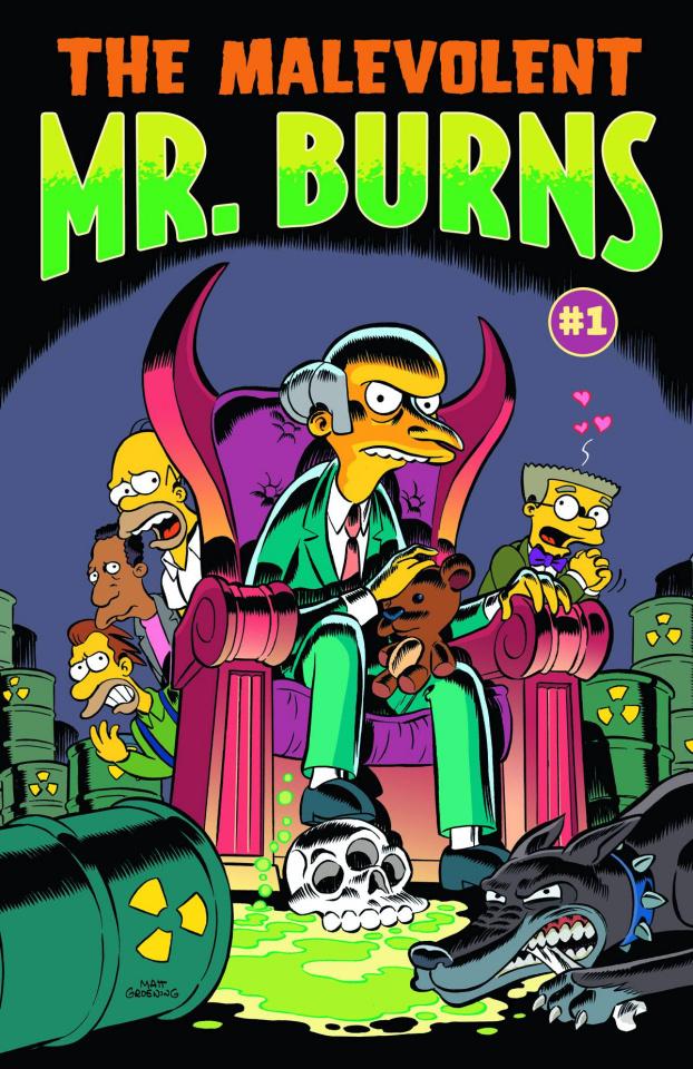 The Malevolent Mr. Burns #1