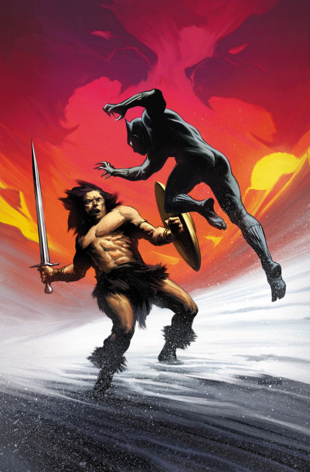 Black Panther #7 (Isanove Conan Cover)