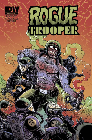Rogue Trooper #4 (Subscription Cover)