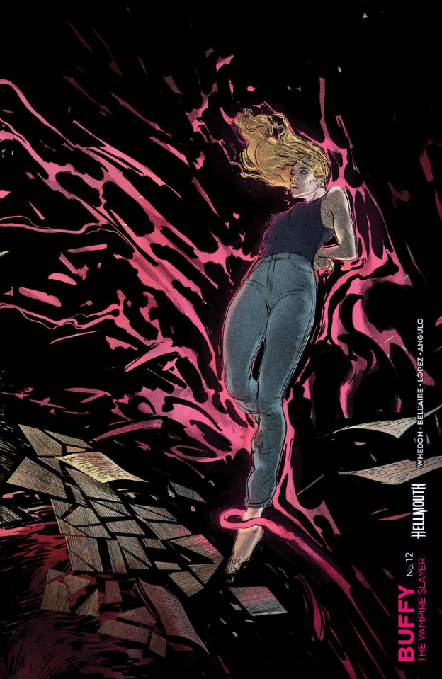 Buffy the Vampire Slayer #12 (Connecting Del Ray Cover)