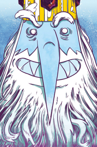 Adventure Time: The Ice King #1 (Subscription Yates Cover)