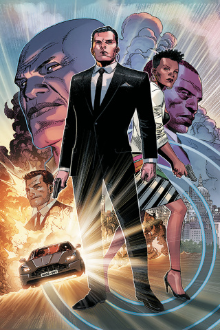 James Bond #1 (Cheung Virgin Cover)
