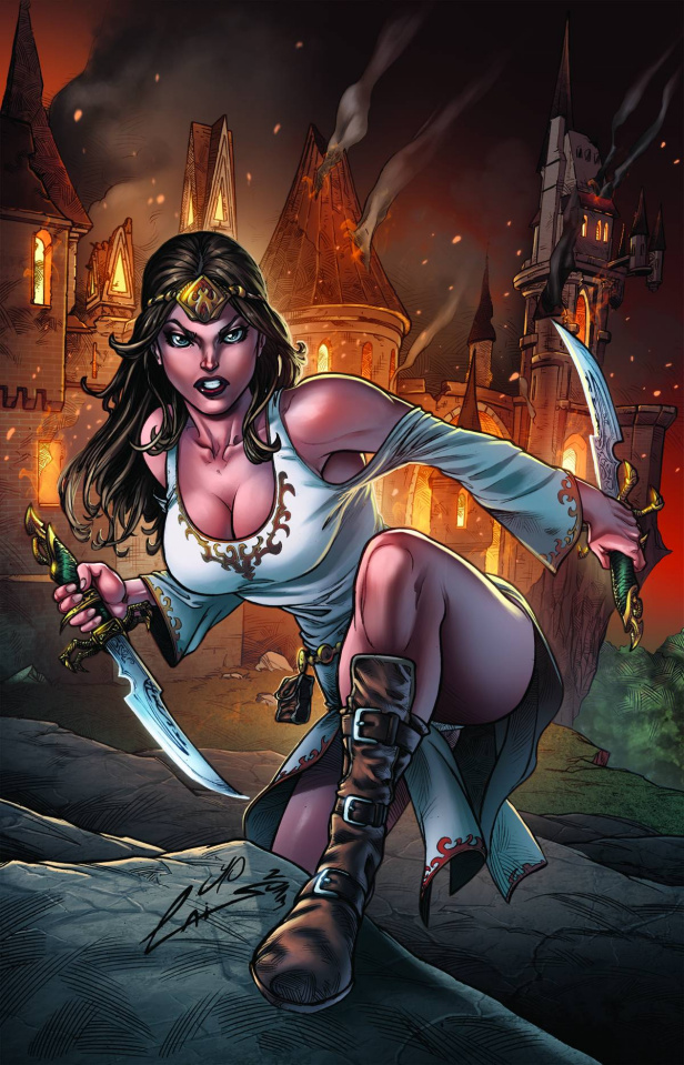 Grimm Fairy Tales: Quest #4 (Laiso Cover)