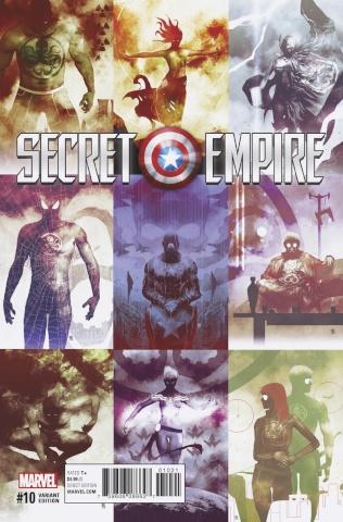 Secret Empire #10 (Sorrentino Hydra Heroes Cover)