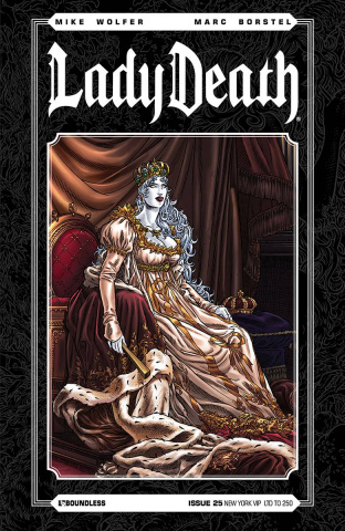 Lady Death #25 (New York VIP Cover)