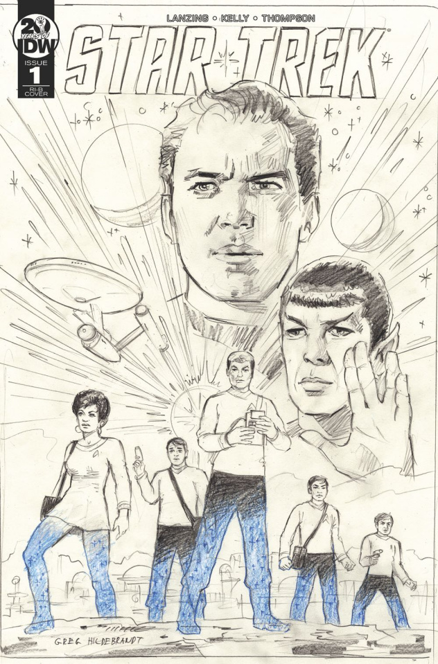 Star Trek: Year Five #1 (25 Copy Hildabrandt Sketch Cover)