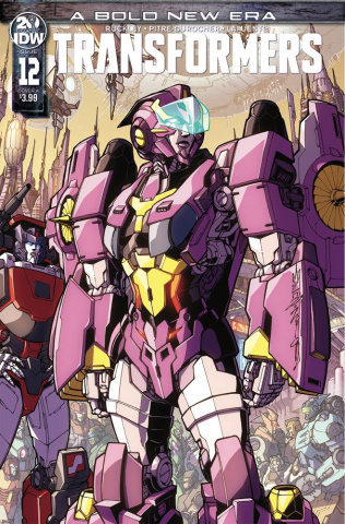 The Transformers #12 (Milne Cover)