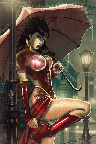 Legenderry: Vampirella #1 (Rare Poulat Virgin Cover)